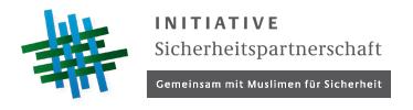 Initiative Sicherheitspartnerschaft. Gemeinsam mit Muslimen für Sicherheit.