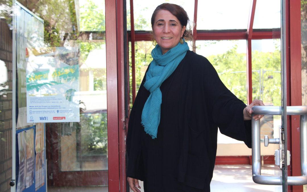 Najat Bouidra Willkommen im Jubigo Kurszentrum