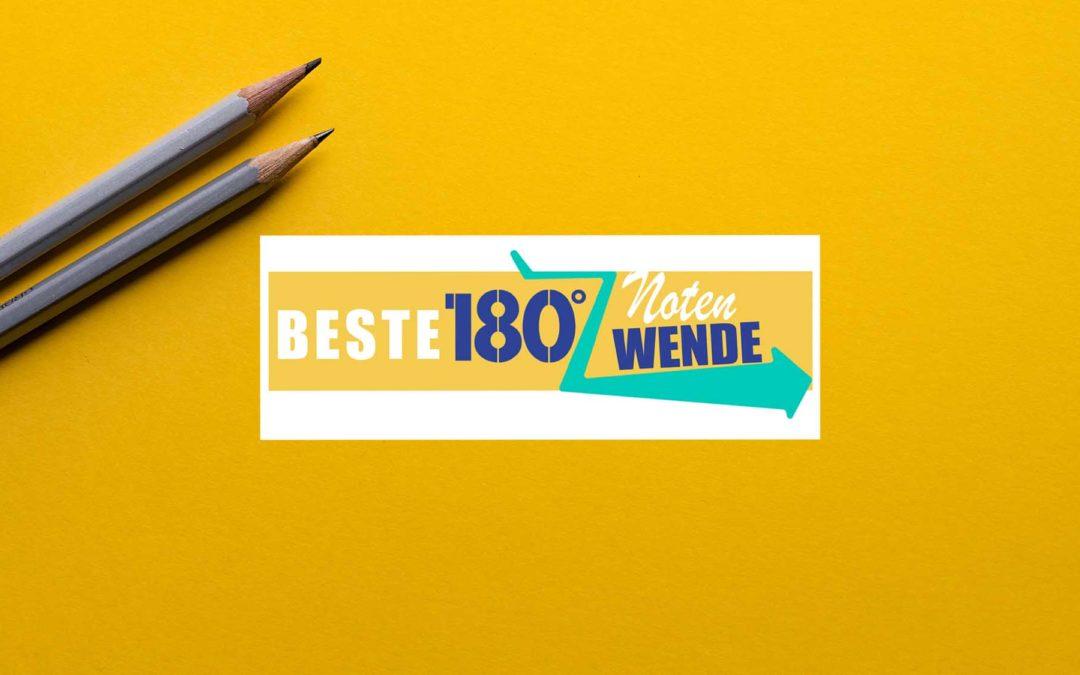 Schülerwettbewerb: Beste 180 Grad Notenwende
